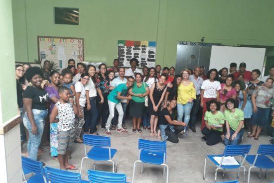 SEMAS realiza segundo encontro do Projeto da Escola Para o Mundo