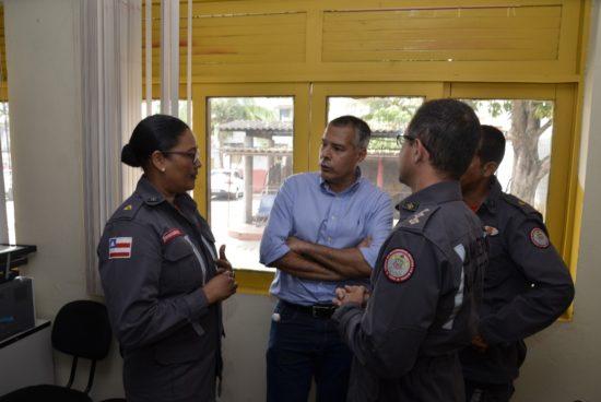 Prefeito e Corpo de Bombeiros intensificam diálogo sobre ampliação de unidade em Alagoinhas